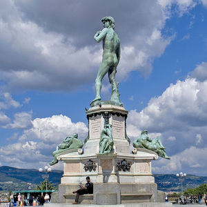 piazzale michelangelo in aprile